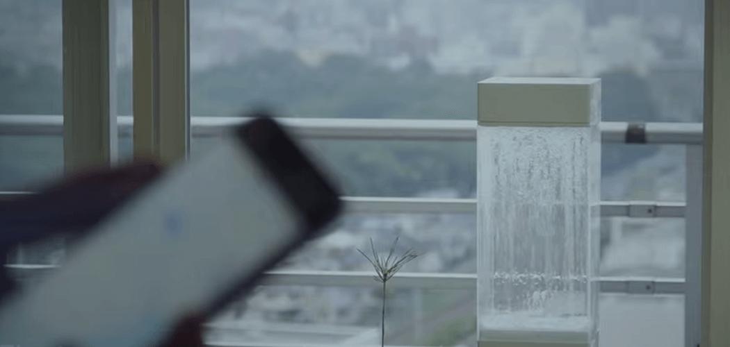 Tempescope, Wetter in der Box