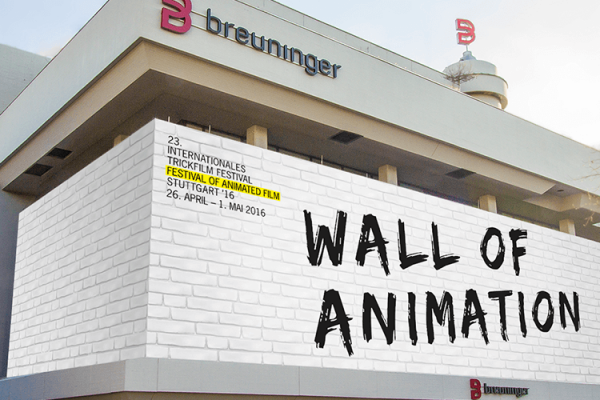 Die ITFS-Wall of Animation bei Breuninger in Stuttgart