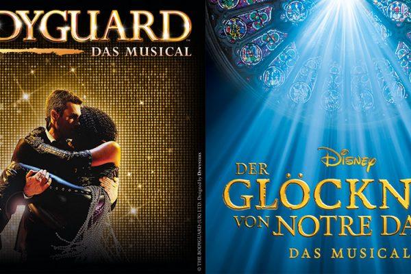 Musicals in Stuttgart – Bodyguard und Disneys Der Glöckner von Notre Dame kommen