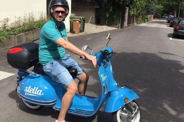 Stella-Sharing – Elektro-Roller für Stuttgart