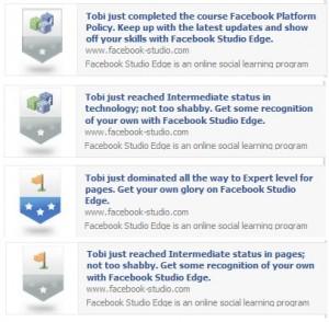 Facebook Studio Edge badges