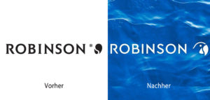 ROBINSON Logo-Vergleich
